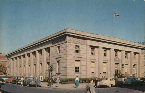 U.S. Post Office, Broadway and Fourth Street Troy New York