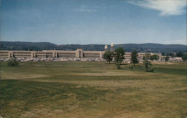 View of I.B.M. Plant Poughkeepsie New York