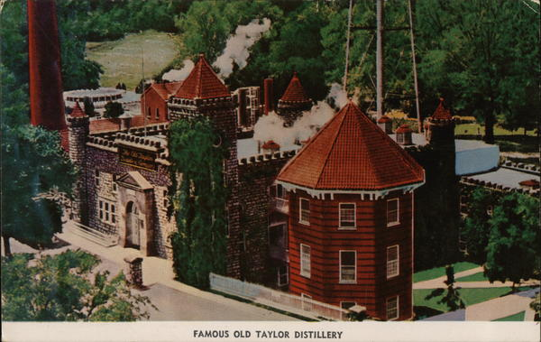 Famous Old Taylor Distillery Frankfort Kentucky
