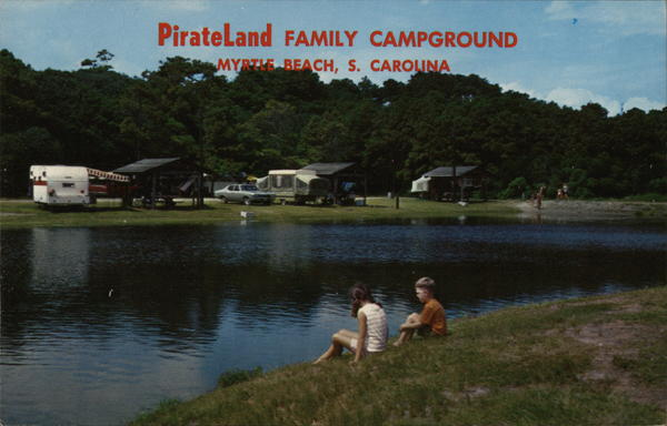 Pirateland Family Campground Myrtle Beach South Carolina