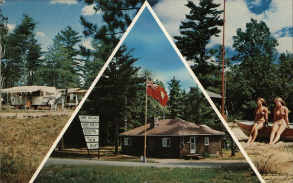 Pine Crest Tent and Trailer Park Tessalon Canada Ontario