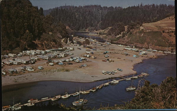 ALbion Flat on the Mendocino Coast of California Trailers, Campers & RVs