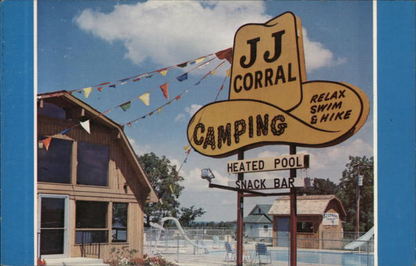 JJ Corral Campground, South Side Table Rock Lake Highways 86 & JJ Blue Eye Missouri