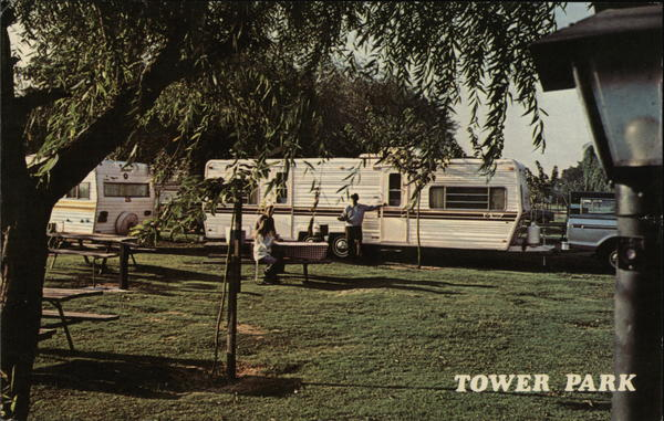 Tower Park Marina-Resort Terminous California Trailers, Campers & RVs