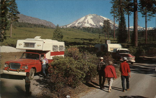 Lassen From Manzanita Lake Campground California Trailers, Campers & RVs