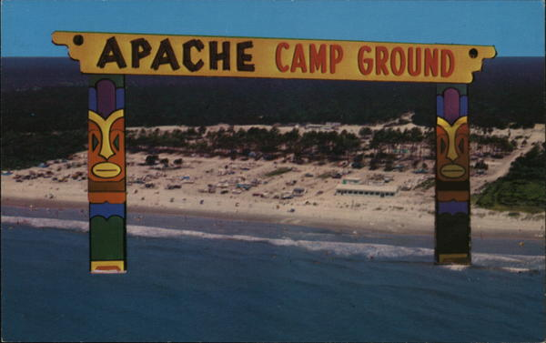 Apache Family Campground Myrtle Beach South Carolina
