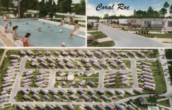 Coral Roc Mobile Park Homestead Florida Trailers, Campers & RVs