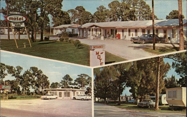 Pine Terrace Motel Punta Gorda Florida Trailers, Campers & RVs