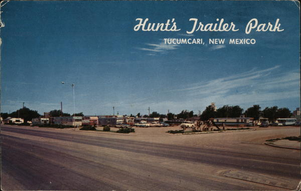 Hunt's Trailer Park Tucumcari New Mexico Trailers, Campers & RVs