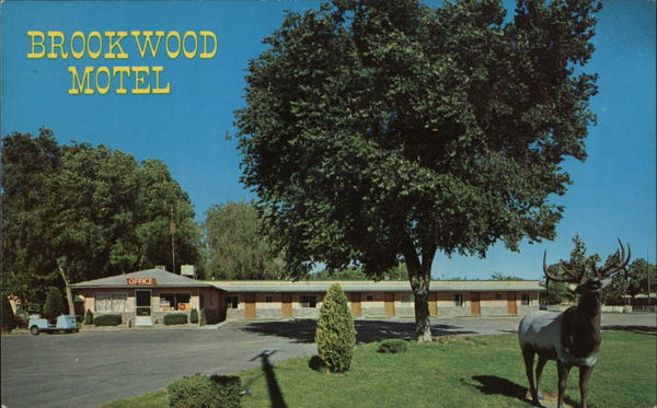 Brookwood Motel and Trailer Park Lovelock Nevada Trailers, Campers & RVs