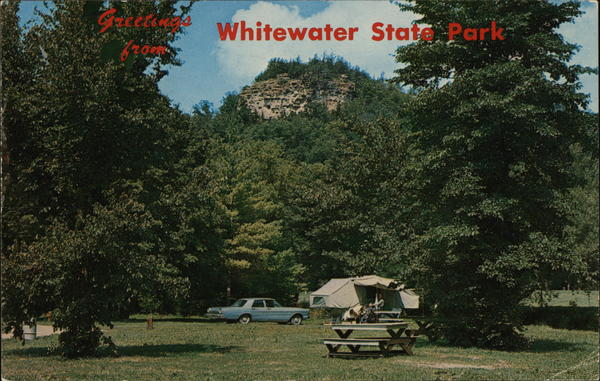 Greetings from Whitewater State Park Altura Minnesota