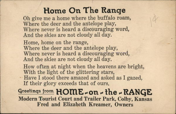 Home On The Range Colby Kansas