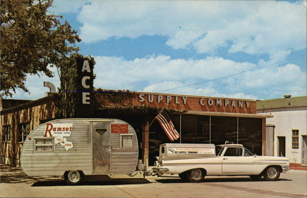 Ace Supply Company San Antonio Tx Postcard