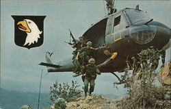 Airborne in Action in Vietnam in 1971