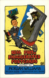 Real Photo Exaggerated Postcards Wanted By Morgan Williams