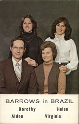 Barrows in Brazil: Dorothy, Helen, Alden & Virginia
