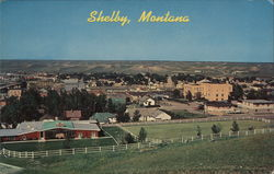 Panorama of Shelby, Montana