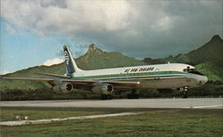 Air New Zealand's DC-8