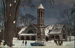 Rollins Chapel, Dartmouth College Postcard