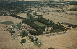 Aerial View of the Veterans's Hospital