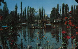 Xochimilco, Landscape with Flowers