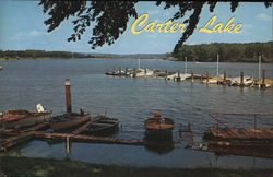 Carter Lake Omaha, NE Postcard