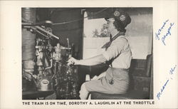 Dorothy A. Laughlin at the Throttle
