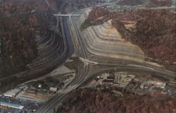Aerial View North Pikeville Cut-Thru