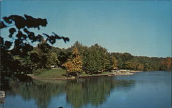 Audubon Lake Postcard