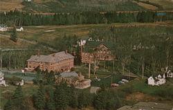 Aerial View Maine Maritime Academy Upper Campus