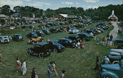 Antique Auto Festival, Boothbay Railway Museum