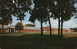 Stephens College Stables Postcard