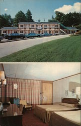 Bennington Motel Postcard