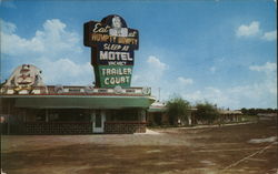 Humpty Dumpty Restaurant, Motel & Trailer Court Postcard