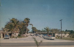 Naples Trailer Park & Motel Postcard