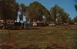 Campground and Trailer Park Postcard