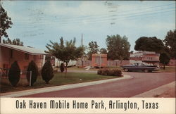 Oak Haven Mobile Home Park Postcard