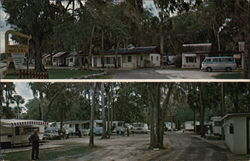 White Bird Motel & Trailer Park Postcard