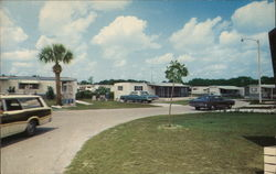 Lake Manor Mobile Home Park Postcard