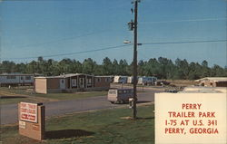 Perry Georgia Vintage Postcards Images