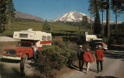 Lassen Volcanic National Park Postcard