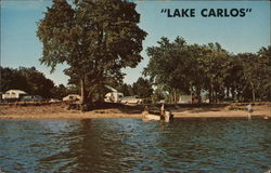 Campground at Lake Carlos State Park