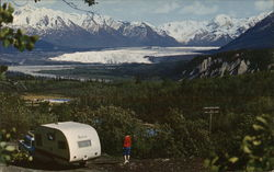 View of the Matanuska Glacier