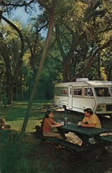 Turtle Creek Campgrounds Postcard