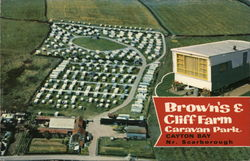 Brown's & Cliff Farm Caravan Park Postcard
