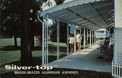 Silver-top Aluminum Awnings