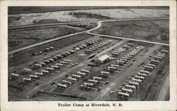 Trailer Camp at Riverdale, N.D.