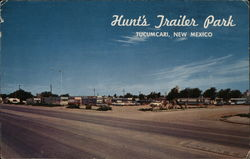Hunt's Trailer Park Postcard