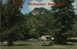Greetings from Whitewater State Park Postcard