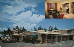 Brumbaugh Motel Postcard